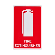 Sandleford 300 x 225mm Fire Extinguisher Plastic Sign