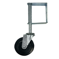 Easyroll 125mm 100kg Load Swivel Gate Castor