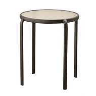 Marquee 51cm Glass Bistro Table