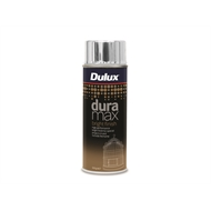 Dulux Duramax 300g Bright Finish Spray Paint - Bright Silver