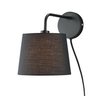 Verve Black Mia DIY Wall Light