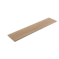 Flexi Storage 1200 x 250 x 16mm Oak Shelf
