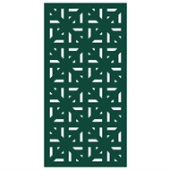 Protector Aluminium 900 x 1200mm ACP Profile 29 Decorative Unframed Panel - Dark Green