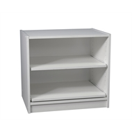 Multistore 550 x 608 x 430mm White 2 Shelf Wardrobe Insert