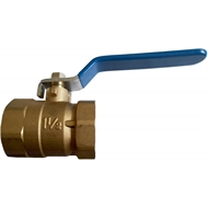 Kinetic 40mm Brass Ball Valve