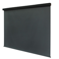 Coolaroo 1.5 x 2.4m Gun Metal Easy Release Outdoor Roller Blind