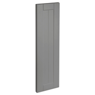 Kaboodle 200mm Smoked Grey Country Cabinet Door