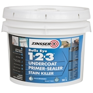 Zinsser 10L Bulls Eye 1-2-3 Undercoat Primer-Sealer Stain Blocker