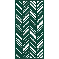 Protector Aluminium 1200 x 2400mm ACP Profile 30 Decorative Panel Unframed - Dark Green