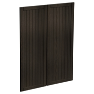 Kaboodle 900mm Copresso Country Medium Pantry Door - 2 Pack