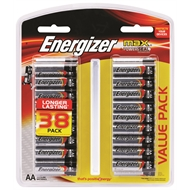 Energizer Max AA - 38 Pack