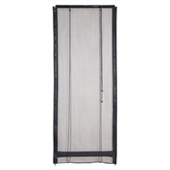 Pillar Products Bug Barrier Outdoor Flyscreen Blind - 900mm x 2420mm Black
