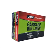Grunt 54L Small Garbage Bin Liners - 50 Pack