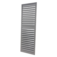 Hartman Pacific 2100 x 700mm Silver Grey Aluminium Shutter Panel