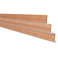 147 x 18mm Cladding Altache Including Aluminium Strip - Per Linear Metre
