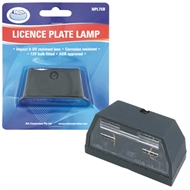Ark License Plate Lamp With Globe