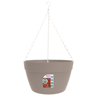 Northcote Pottery 380mm Grey Neo Hanging Basket