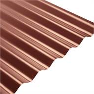COLORBOND® Steel XRW S-Rib™ Corrugated .42 BMT Steel Roofing - Manor Red