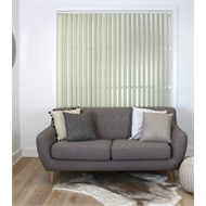 Windoware 300 x 210cm Alabaster PVC Vertical Blind - 2100mm x 2100mm