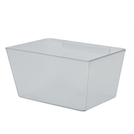 Flexi Storage 135 x 72 x 94mm Clear Tote Board Plastic Tub