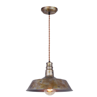 Home Design 12cm 240V Factory Single Pendant Light