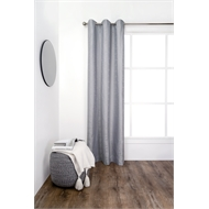 Windoware 1200 x 2230mm Cloud Eyelet Block Out Curtain - Silver