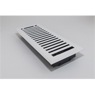 Accord 10 x 30cm White Brooklyn Floor Vent