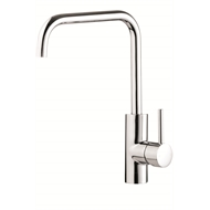Flexispray WELS 4 Star 7.5L/min Square Medea Gooseneck Sink Mixer