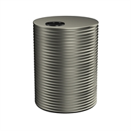 Kingspan 4000L Round Steel Water Tank - 1700mm x 1860mm Woodland Grey