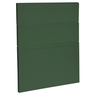 Kaboodle 600mm Vivid Basil Country 3 Drawer Panels