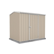 Garden Pro 2.26 x 1.52 x 1.95m Gable Roof Single Door Shed - Merino