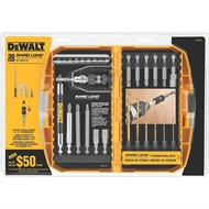 DeWALT 30 Piece Rapid Load Drill Bit Set