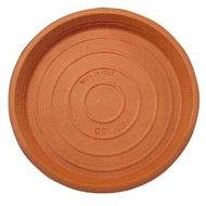 Northcote Pottery Terracotta Italian Saucer - 150mm