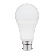 Click 10W A60 BC Cool White LED A Shape Globe