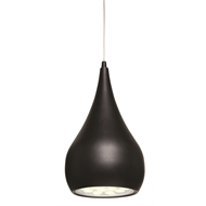 Brilliant 240V Black Clyde LED Pendant Light