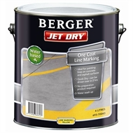 Berger Jet Dry 4L Yellow One Coat Line Marking Paint