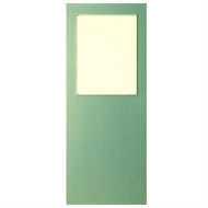 Hume 2040 x 870 x 40mm Glass Opening G1 Duracote Entrance Door