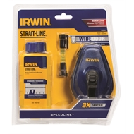 Irwin 30m Speedline Chalk Reel Line Level Set