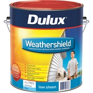 Dulux Weathershield 4L Low Sheen Blue Exterior Paint