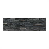 Nova 1180 x 350 x 35mm Rome Black Panel Wall Cladding - Carton 6