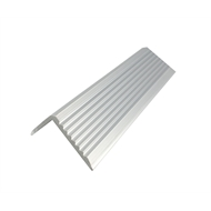 Metal Mate 43.2 x 23mm 3m Aluminium Section Stair Nosing