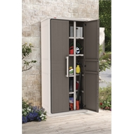 Keter 0.8 x 1.78 x 0.47m Optima Multipurpose Storage Cabinet