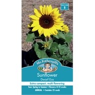 Mr Fothergill's Sunflower Dwarf Eos Seeds