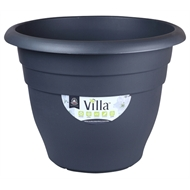 Northcote Pottery 200mm Graphite Villa Round Plastic Pot