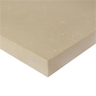 Essential Stone 20mm Panna Cotta Square Arris Urbane Splashback