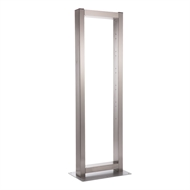 Sandleford 45 x 150cm Stainless Steel Multi Frame Letterbox Post