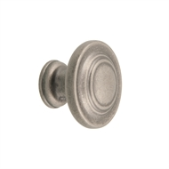 Prestige 34mm Antique Iron Knob