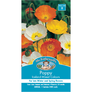 Mr Fothergill's Poppy Iceland Mixed Flower Seeds