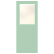 Hume 2040 x 770 x 40mm G2 Duracote Glass Opening Entrance Door