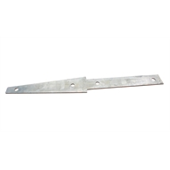 Ridgi 580 x 80 x 3mm Galvanised Steel Fence Bracket